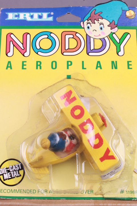 *Ertl 1198F1 Noddy in his Aeroplane
